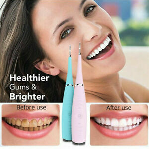 Cleanoral Ultrasonic Tooth Cleaner Electric Teeth Stain Dental Cleaning Kit Us