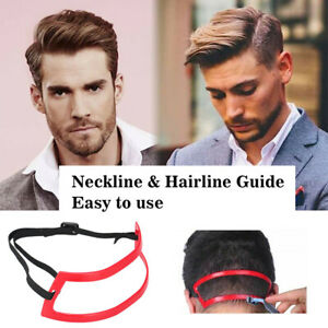 Neckline Hairline Guide Hair Trimming Shaving Template Self Cut Grooming Tool
