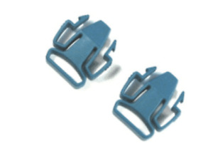 New Mirage Green Clips 2 -pair/cpap Supplies & Accessories