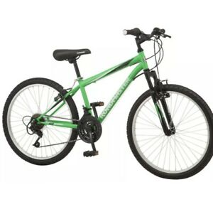 Ships Fast! Roadmaster 24 Inch Granite Peak Boys Mountain Bike Green New