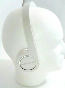 Bauhn Audio Foldable Headphones Wired - White - 3.5mm Jack ~tested Sounds Great