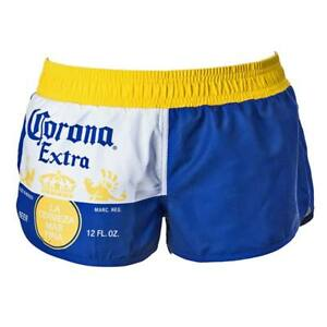 Corona Beer Womens Board Shorts Cover Up Beach Booty Running Trunks S-xl