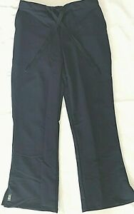 Ave By Medline Womens Medical Scrub Pants Bootcut Style Size Xs Petite Nwot