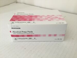 Box Of 200 Alcohol Pads Disposable Prep Pad Alcohol Swabs Pads Wipes - Fast Ship
