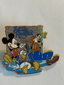 Dlr Splash Mountain 15th Anniversary Collection The End Mickey Disney Pin (b1)