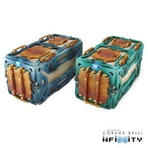 Warsenal Infinity Terrain  Cosmica Containers - Single Pack Sw