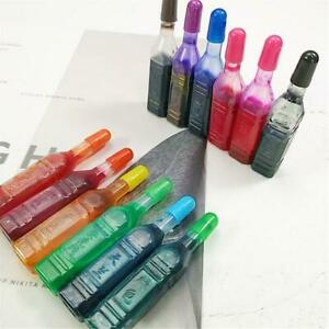 12pcs 8ml Pigment For Diy Slime Supplies Accessories Epoxy Resin Ink Dye Ink