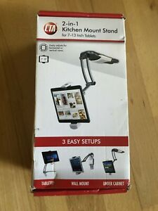 Cta Digital 2-in-1 Kitchen Mount Stand For Tablets (ipad)