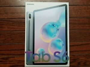 Brand New - Samsung Galaxy Tab S6 With 256gb, 10.5 In - Mountain Gray Tablet