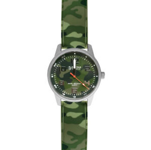 Prestige Medical Nurse Camouflage Watch #1991 Green New