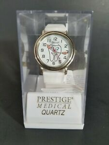 Prestige Medical Quartz Smile Tooth Watch For Dental Assistant Hygienist Dentist
