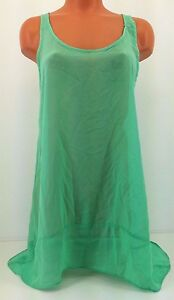 Boaz Green Sheer Swimsuit Cover-up  Size M  Style Bf78210