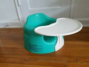 Bumbo Baby Seat With Safety Straps And Tray Turquoise