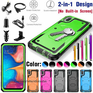 For Samsung Galaxy A10e A20 A20s A30 A51 Hybrid Phone Case Cover With Accessory