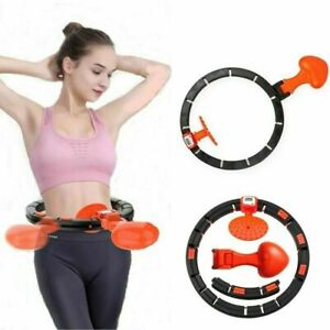 Smart Hula Circle Auto Counting Lose Weight Slimming Weighted Hula Round Fitness