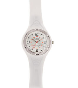 Prestige Medical Nursing/scrub White Watch With Silver Screen.