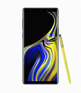 Samsung Galaxy Note9 Sm-n960 - 128gb - Blue (at&t Only) Excellent. Has Lcd Burn