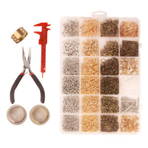 Jewelry Making Supplies Kit - Jewelry Repair Tool With Accessories Findings