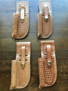 Tex Shoemaker Natural Brown Leather Paramedic Kit Emt Ems Medic First Aid Fire