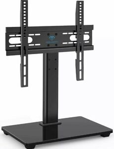 Perlesmith Pstvs04 37-55 Inch Universal Tv Stand Table Top - Black