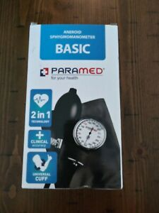 Aneroid Sphygmomanometer Basic Paramed For Your Health Model No.:cm-bpm-s 2 In 1