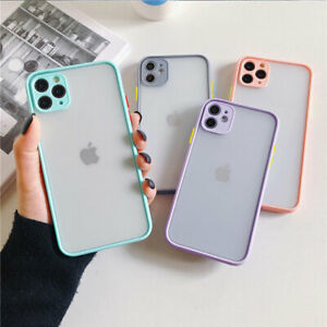 F Iphone 11 Pro Max 8 Plus Xs Max Xr Clear Case Full Protective Hard Phone Cover
