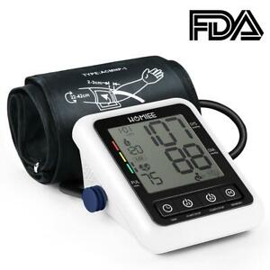 Electronic Sphygmomanometer Digital Upper Arm Blood Pressure Monitor Tester #8y