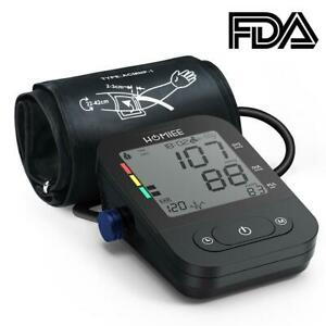 Digital Upper Arm Blood Pressure Monitor Tester Electronic Sphygmomanometer #8y