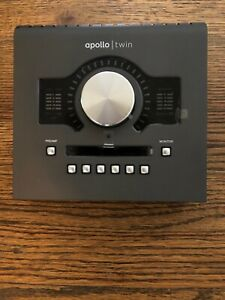 Universal Audio Apollo Twin Mkii Duo Thunderbolt Audio Interface - High Res- Uad