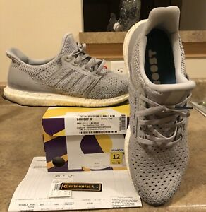 Adidas Men's Ultra Boost Clima Shoes Gray By8889 Used Ultraboost Clima  Size 12