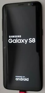 Excellent Samsung Galaxy S8 Sm-g950u 64gb Midnight Black Verizon Unlocked