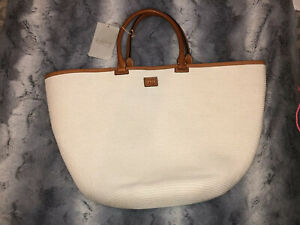 Emilio Pucci Shoulder Bag Nwt White Straw