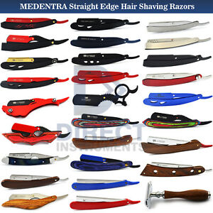 All In 1 Professional Barber Hair Shaving Razors Knife Straight Edge Double Men