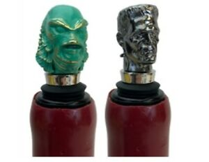 Universal Monsters Creature & Frankenstein Bottle Stoppers Box Set Sdcc 2019 Exc