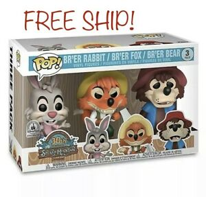 Disney Parks Exclusive Funko Splash Mountain 3 Pack 🔥 In Hand🔥 🆓shipping🆓