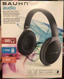 Bauhn Noise Cancelling Bluetooth Headphones. New In Box. Sealed.
