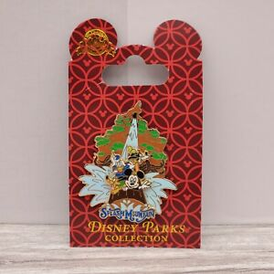 Disney Parks Splash Mountain Attraction Slider Disney Pin