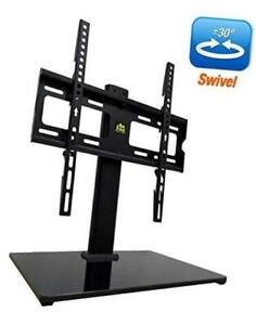 Forgingmount Universal Swivel Tv Stand/base Table Top Tv Stand For 26-55 Inch Lc