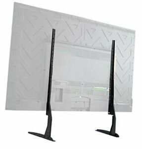 Vivo Universal Tabletop Tv Stand For 22 To 65 Inch Lcd Flat Screens | Vesa Mount