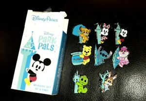 2020 Disney Park Pals Mystery Blind Box 8 Pin Set Splash Mountain Brer Rabbit