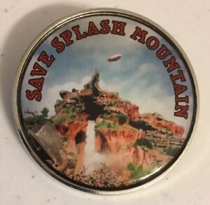 Disney Pin Save Splash Mountain Pin 2020 Photo Pin Fantasy Ride 1992 Photo