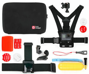 Duragadget | Hard Shell Storage Case & Accessory Kit For Gopro Hero + / + Lcd