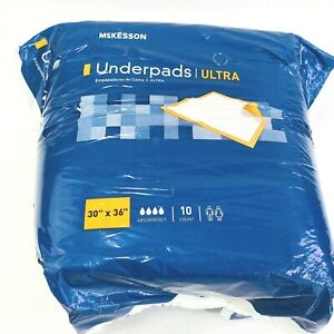 Mckesson Disposable Ultra Absorbency Underpads 30