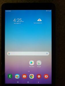 Samsung Galaxy Tab A Sm-t387 32gb, Wi-fi + Cellular (at&t), 8in - Black