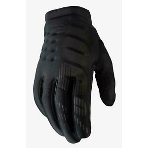 2019 100% Brisker Gloves Winter Cold Weather Black Adult Motocross Bmx Mtb Cheap