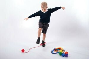 Foot Hula Hoop Ankle Skip Ball  Original Playground Toy