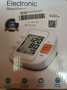 Lotfancy Fda Approved Auto Digital Arm Blood Pressure Monitor 30x4 Memories For