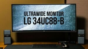 Lg 34 Inch Ultrawide Monitor W/extras ($850+ Value)