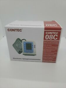 Contec 08c Electronic Sphygmomanometer Blood Pressure Monitor Upper Arm