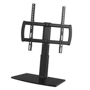 Universal Swivel Tv Stand/base Table Top Tv Stand 27 To 55 Inch Tvs 80 Degree Sw